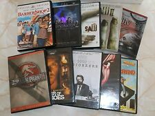 DVD Lot (10) Saw /2/4 Jurassic Park 3, Barber Shop 2, Final Destination 2 + More
