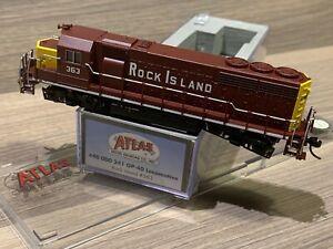 N Scale Atlas Locomotive Rock Island GP-40 #40 000 241 RI #363 - Decoder Ready