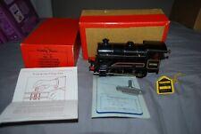 VINTAGE HORNBY CLOCKWORK TRAIN TYPE 50 WITH NICE BOX ,KEY & GUARENTEE CIRCA 1960