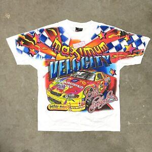 VTG NOS Dale Earnhardt Peter Max NASCAR T Shirt Large NEW Colorful Rare