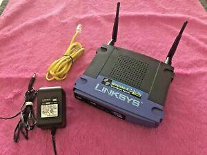 Linksys WRT54-G High Speed Wireless G Broadband Router - CISCO SYSTEMS - EUC
