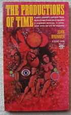 The Productions of Time by John Brunner PB 1st Signet P3113 astonishing surreal