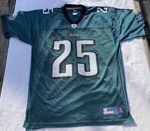 """LeSean """"Shady"""" McCoy PHILADELPHIA EAGLES #25 Green Jersey Reebok Men's XL MINT!!"""