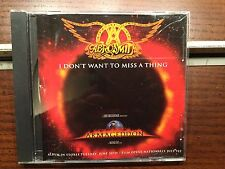 Aerosmith - I Don't Want To Miss A Thing Pop Mix CD RARE