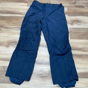 Columbia Men's Snow Ski Waterproof Snow Winter Pants Blue Size XL