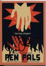 Star Trek TNG Portfolio Prints Gold Parallel Base Card #41 Pen Pals