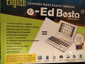 BESTA DA-707 ELEC TALKING DICTIONARY, LEARN ENGLISH OR HINDI