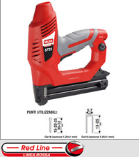 Graffettatrice puntatrice chiodatrice elettrica 5725 Valex  300 chiodi 100 punte