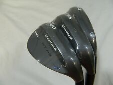 New Cleveland Rotex 3 RTX Black Satin Wedge set 52* AW 56* SW 60* LW wedges