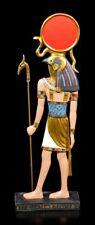 RA Figura con Cetro - EGIPCIO DIOS SOL Estatua Decorativa