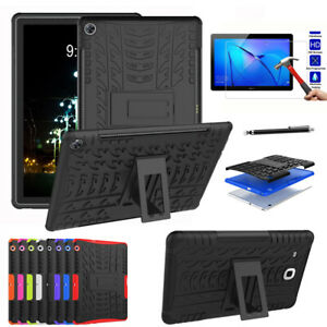 Hybrid Rugged Heavy Duty Shockproof Rubber Case Cover For Huawei Mediapad T3 10
