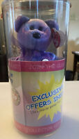 TY BEANIE BABY BEAR CLUBBY IV SEALED IN TUBE W/ POSSIBLE TY WARNER SIGNATURE