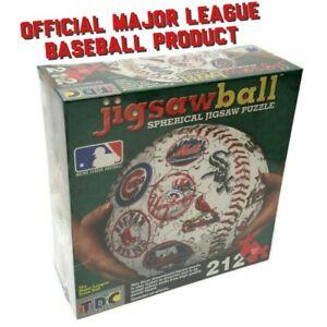 TDC Major League Baseball Team Official MLB Spherical Jigsaw Puzzle 212 Pcs New