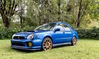 2003 Subaru Impreza WRX 2003 Subaru Impreza Wagon Blue AWD Manual WRX