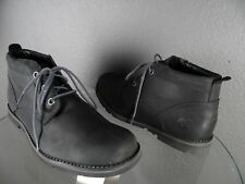 TIMBERLAND BLACK LEATHER CHUKKA BOOTS A17DT MENS SIZE 12