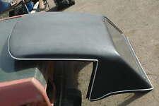 Triumph Spitfire Black Fiberglass Hardtop Black with white interior