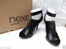 Patternless 100% Leather Slim Heels Women's NEXT