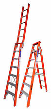 TRADESMAN  - Fiberglass Dual Purpose Step Ladder - 1.80 mts