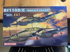 "1/32 Dragon BF-110D/E ""Nachtjager"" w/ Extras - MIB!"