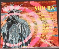 SUN RA & HIS ARKESTRA nidhamu + dark myth equation visitation UK CD new sealed
