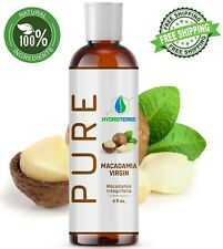 Macadamia Nut Oil 4 oz 100% PURE Cold Pressed Natural Hair Healing Treatment