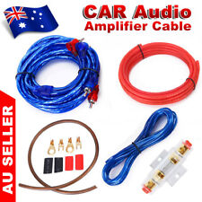 1500W Car Audio Subwoofer Sub Amplifier AMP RCA Wiring Kit Power Cable FUSE AGU
