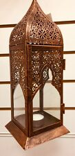 New Antique Vintage Style Moroccan Lantern Candle Holder Tea Light Holder Metal