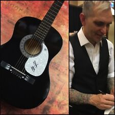 GFA Everclear Lead Singer * ART ALEXAKIS * Signed Acoustic Guitar PROOF A4 COA