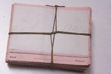 Oct 31 1931 Lamson Goodnow Piece Work Voucher Maunfacturing Pay Ephemera E50D