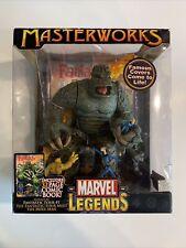 marvel legends masterworks the fantastic four meet the mole man ToyBiz 2006