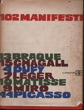 1 ed.! 102 manifesti. A cura di Fernand Mourlot. Il Saggiatore. 1959. RM12