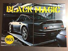 1991 Porsche 911 Tpye 965 Concept Car Showroom Advertising Sales 2 Poster Set