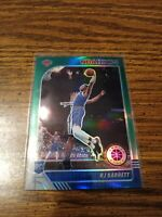 2019-20 NBA Hoops Premium Stock RJ Barrett Green Prizm Rookie Card