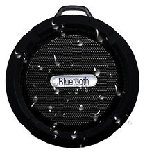 Rechargeable Waterproof Bluetooth Shower Speaker & Speakerphone. Huge Sound.