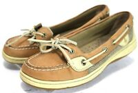 Sperry Top-Sider Angelfish $85 Women's Slip-On Boat Shoe Shoes Size 6 Beige