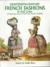 Eighteenth Century French Fashions Plates in Full Color 1778-1787