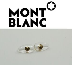 Replacement Screw-in Nose Pads for MontBlanc Sunglasses Eyeglasses frames GOLD