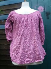 New Look Maternity Pink Size 12 Gypsy Blouse Long Sleeve Pregnancy Top