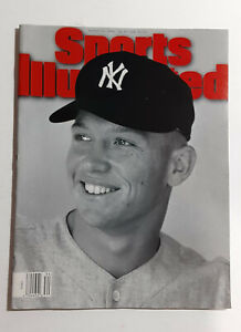 Sports Illustrated--Death of Mickey Mantle--NM/Mint Condition--First Untitled SI