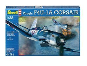 Revell G 4781 USN WWII Vought F4U-1A Corsair Fighter plastic model kit 1/32