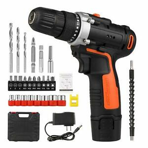 Koato Cordless Electric Drill Driver Kit 12V with 26 Accessories & Tool Case