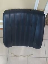 Mercedes Benz W123 Driver side Upper MB Tex Seat Skin with padding  Dark Blue