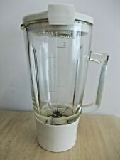 Vintage Kenwood PL17789 Glass Jug Blender Liquidiser  Unit