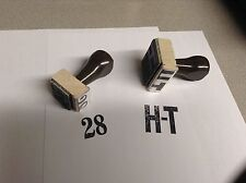 FORD MUSTANG K CODE 289 4 SPEED TRANMISSION DETAIL STAMP SET #28 & HT