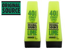 Original Source Shower GEL Vegan 250ml Variety of Flavours Buy 4 Get 1 Lime