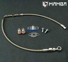 For SUBARU AVCS / Turbo Oil Feed Line 02~06 WRX / 04~14 STI w/ Greddy T67-25G
