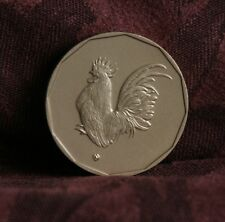 Year of The Chicken Thailand World Coin 12 Chinese Zodiac Animals on the Reverse