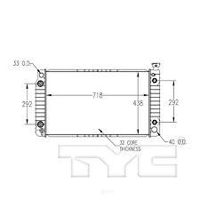 Radiator TYC 622