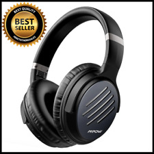 Active Noise Cancelling Headphones 30 Hours Playtime W/ Hi-Fi Deep Bass Foldable
