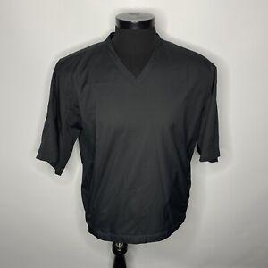 Nike NikeGolf Golf Wind/Rain Short Sleeve Pullover Golf Pullover Mens Medium
